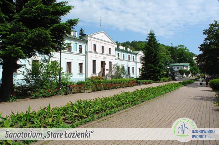 Sanatorium Stare łazienki Uzdrowisko Iwonicz Sa